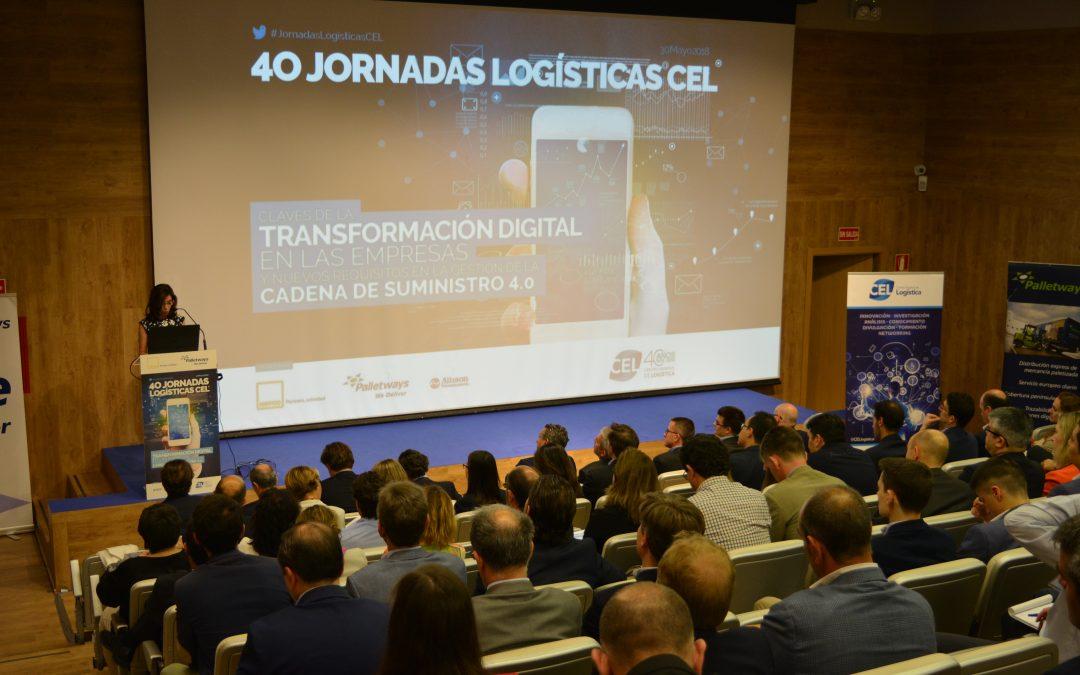 40 edición de las Jornadas Logísticas CEL: Transformación Digital en la Logística 4.0