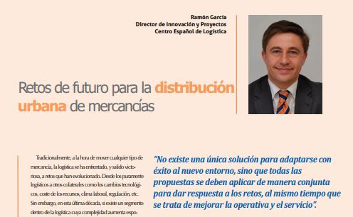 Retos del futuro para la distribución urbana de mercancías