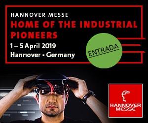 """""""Industria integrada – Inteligencia industrial"""" HANNOVER MESSE 2019, del 1 al 5 de abril de 2019"""