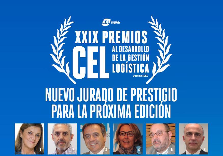 LOS PREMIOS CEL 2019 AL DESARROLLO DE LA EXCELENCIA LOGÍSTICA VUELVEN A REUNIR A UN PRESTIGIOSO JURADO