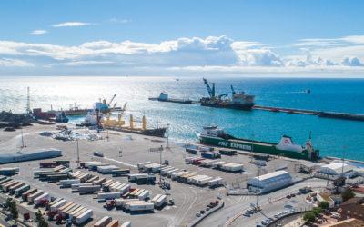 563,4 millones de toneladas, nuevo récord de tráfico portuario
