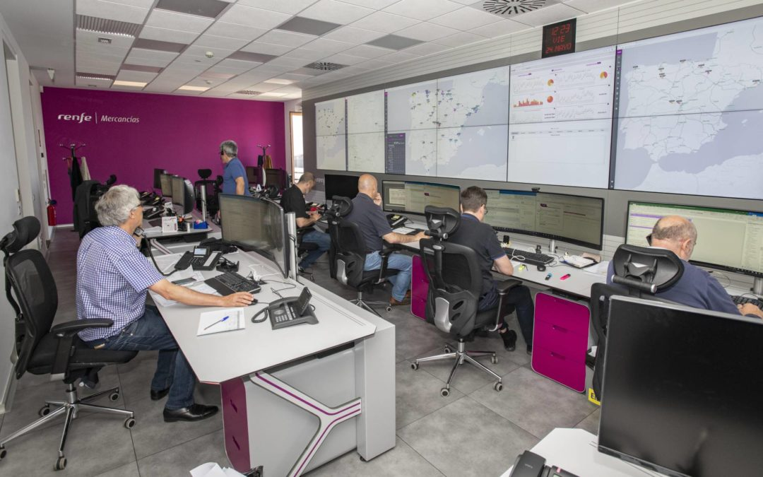 Renfe Mercancías pone en servicio un centro de alta tecnología digital para la gestión y el control del tráfico de sus trenes