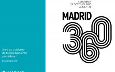 MADRID 360, nueva ordenanza de Calidad del Aire y Sostenibilidad de Madrid