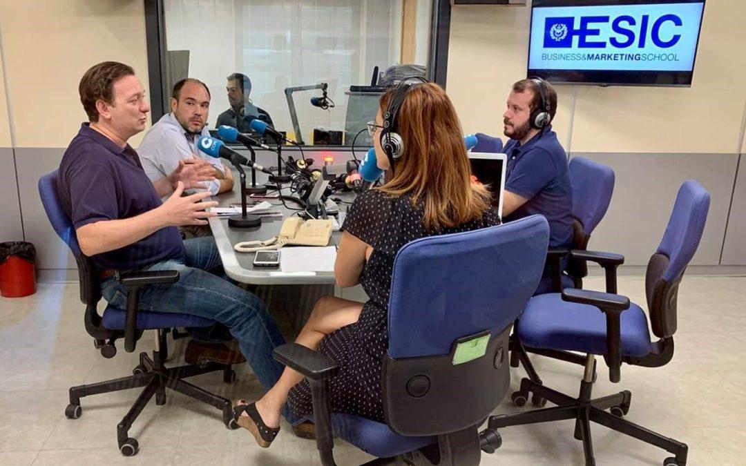 Entrevista a Ángel Gil en Cope «La logística necesita formación»