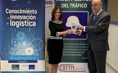Ana González recibe el premio Mujer y Gestión del Tráfico 2019