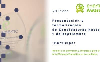 ENERTIC AWARDS 2020: recepción de candidaturas hasta el 1 de septiembre
