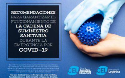 RECOMENDACIONES PARA GARANTIZAR EL FUNCIONAMIENTO DE LA CADENA DE SUMINISTRO SANITARIA DURANTE LA EMERGENCIA POR COVID-19
