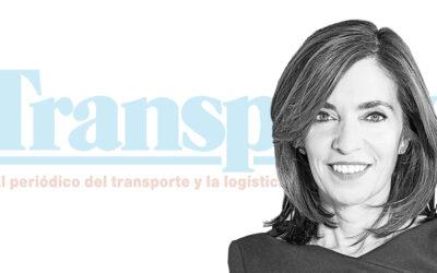Ana González, presidente de CEL, invitada como columnista en Transporte XXI