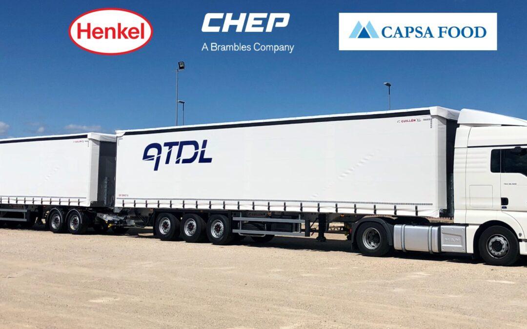 LAS SOLUCIONES DE TRANSPORTE COLABORATIVO DE CHEP REDUCIRÁN LAS EMISIONES DE HENKEL y CAPSA FOOD