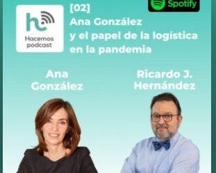 Ana González en el podcast de Cuadernos de Logística